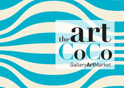 Image corporativa per la galeria d'art: the art coco