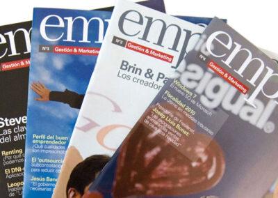 Disseny original de la revista EMPRESA de CEAC
